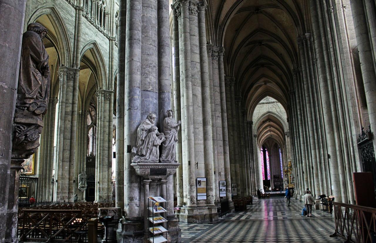 амьенский собор во франции