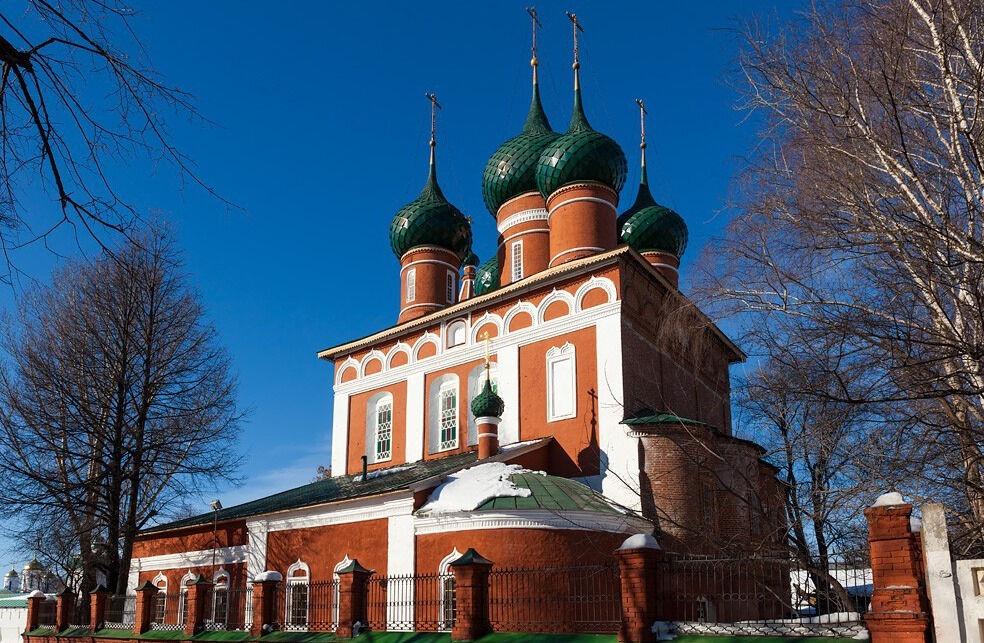 церковь архангела михаила в ярославле