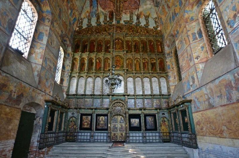 храм богоявления в ярославле