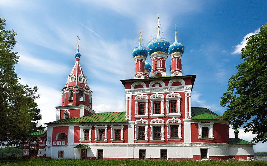 церковь царевича димитрия на крови в угличе