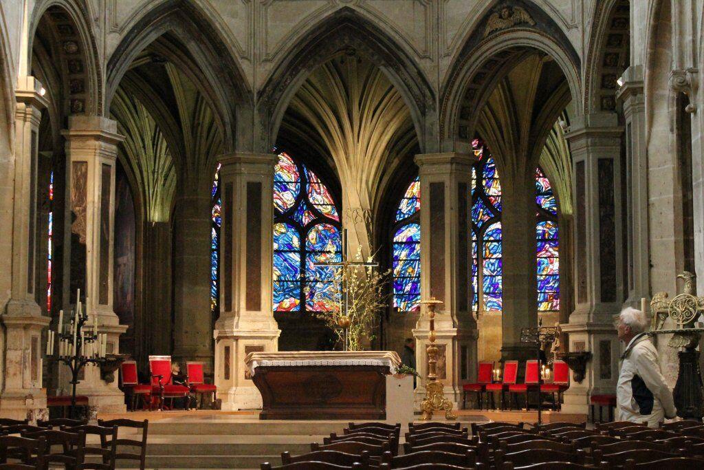 церковь сен северен в париже