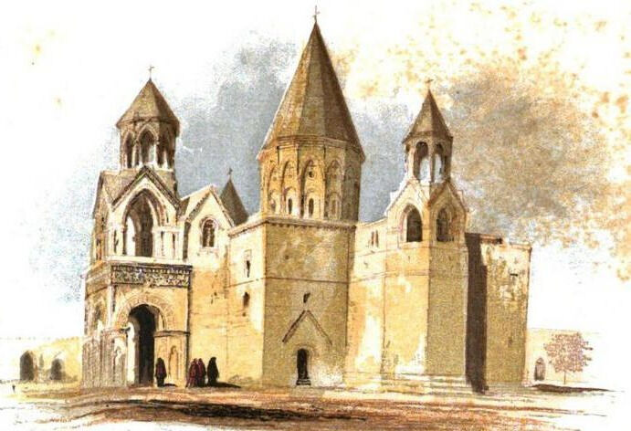 Эчмиадзин - город церквей Посетить духовный центр Армении-