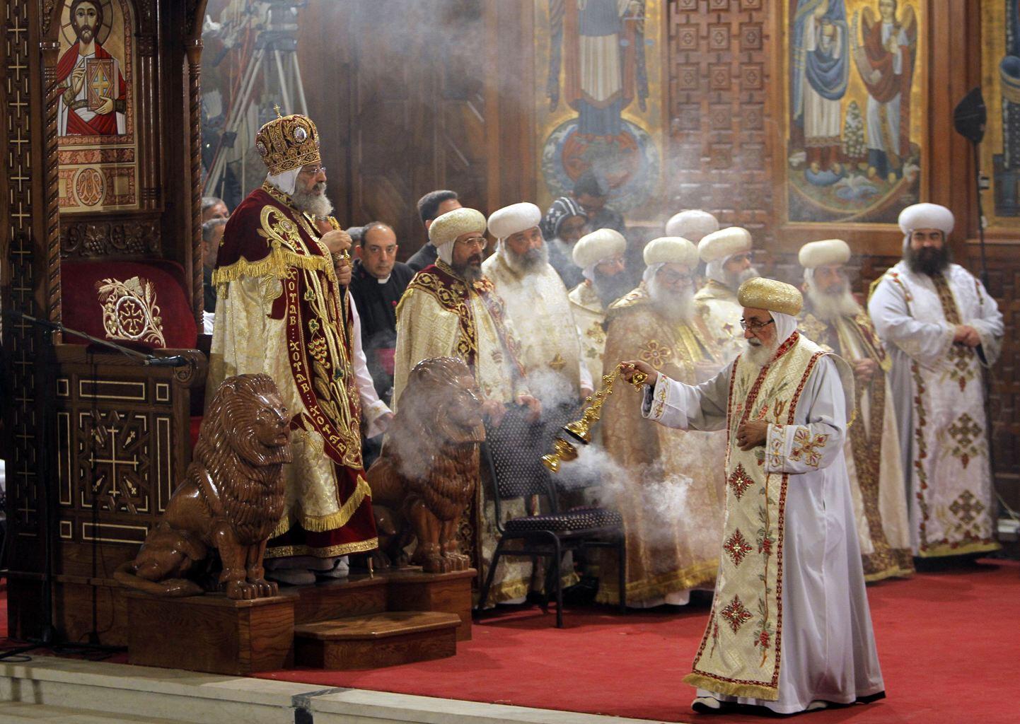 Богослужение коптского патриарха