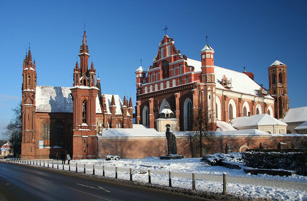 собор святой анны в вильнюсе