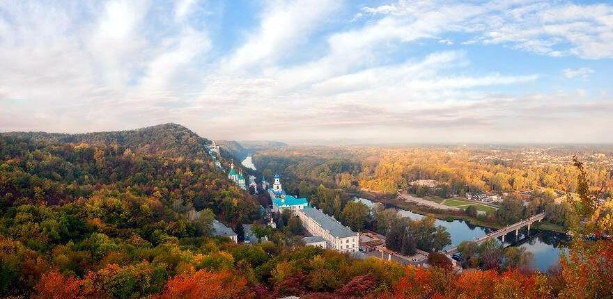 национальный природный парк святые горы