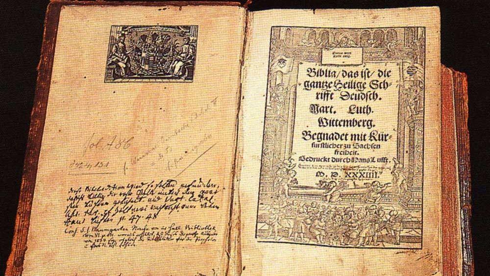 мартин лютер против папы римского