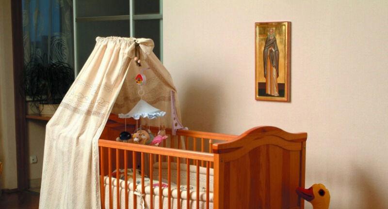 мерная икона для младенца