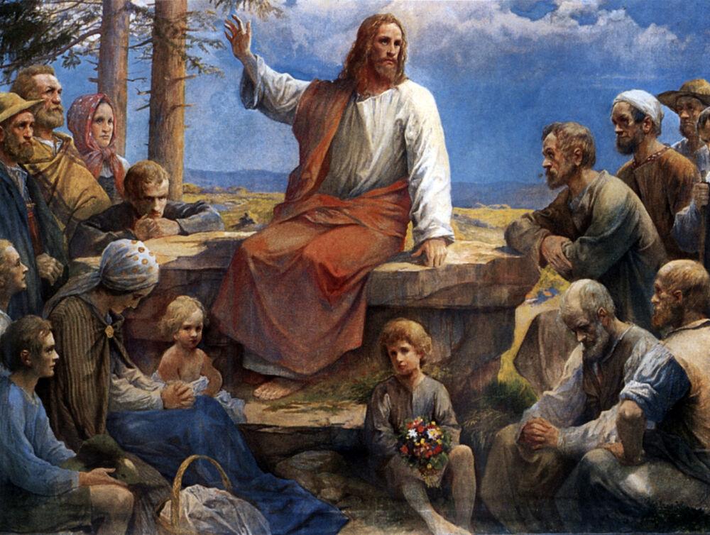 нагорная проповедь икона