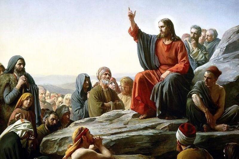 нагорная проповедь евангелие от матфея