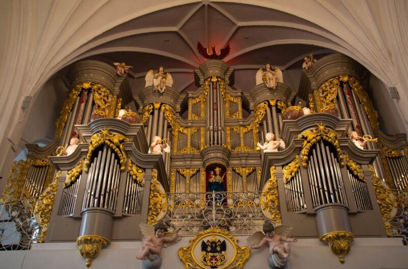 нидаросский собор в норвегии