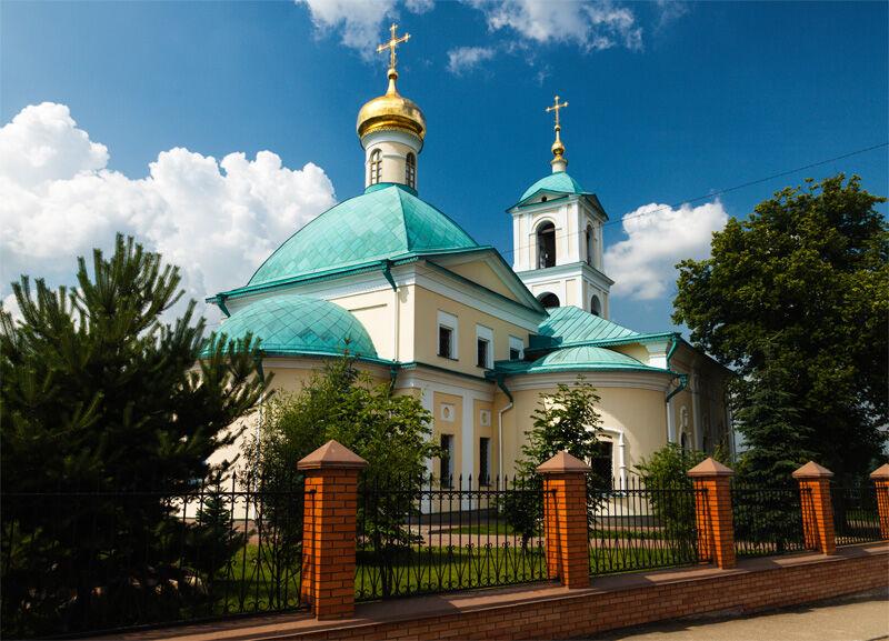 Московская область Одинцовский район Никольское Церковь Николая ...