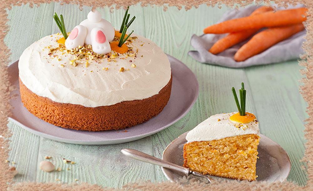 Пасхальный морковный кулич