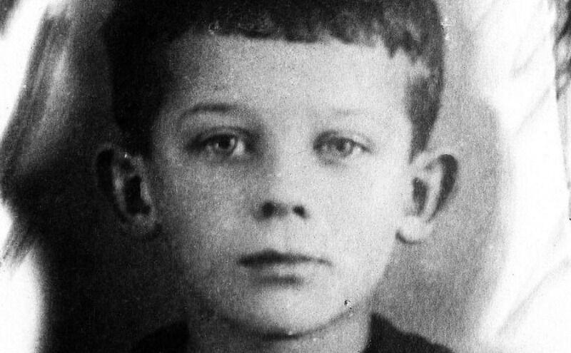 Н.Е.Пестов в детстве