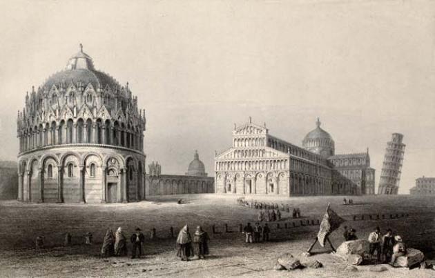 пизанский собор в италии