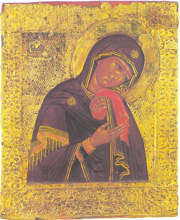 Плач Пресвятой Богородицы Икона XVII века.   Галерея Фото ...