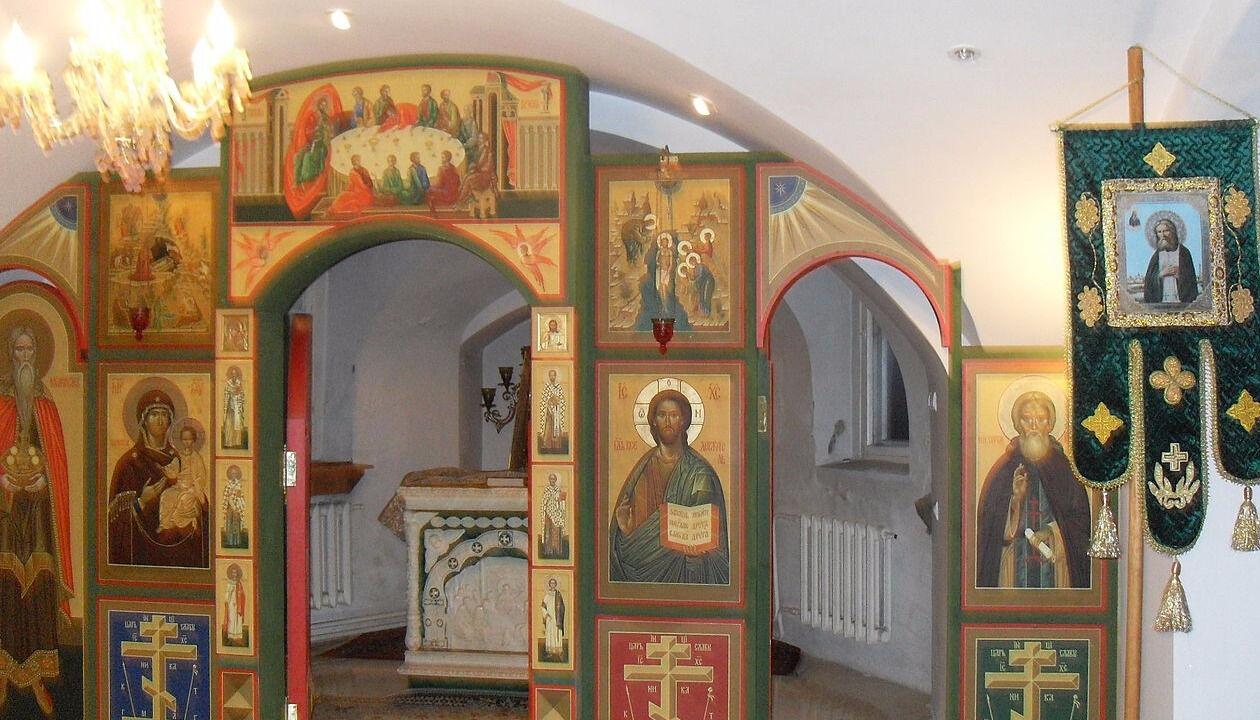 подземный храм преподобного серафима саровского в тула