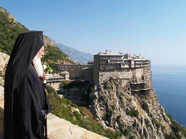 монашеское государство ...