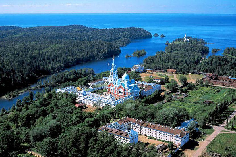 Валаамский монастырь: история, описание, фото
