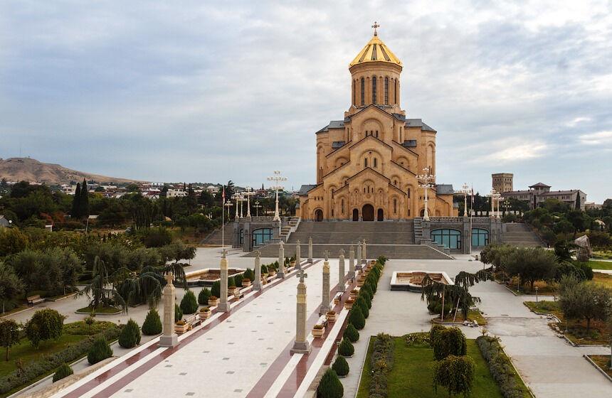 крещение грузии