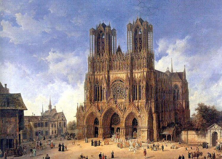 реймский собор во франции