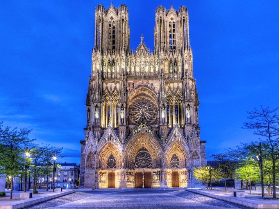 собор в реймсе франция