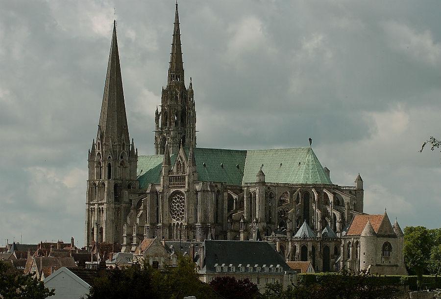 шартрский собор во франции