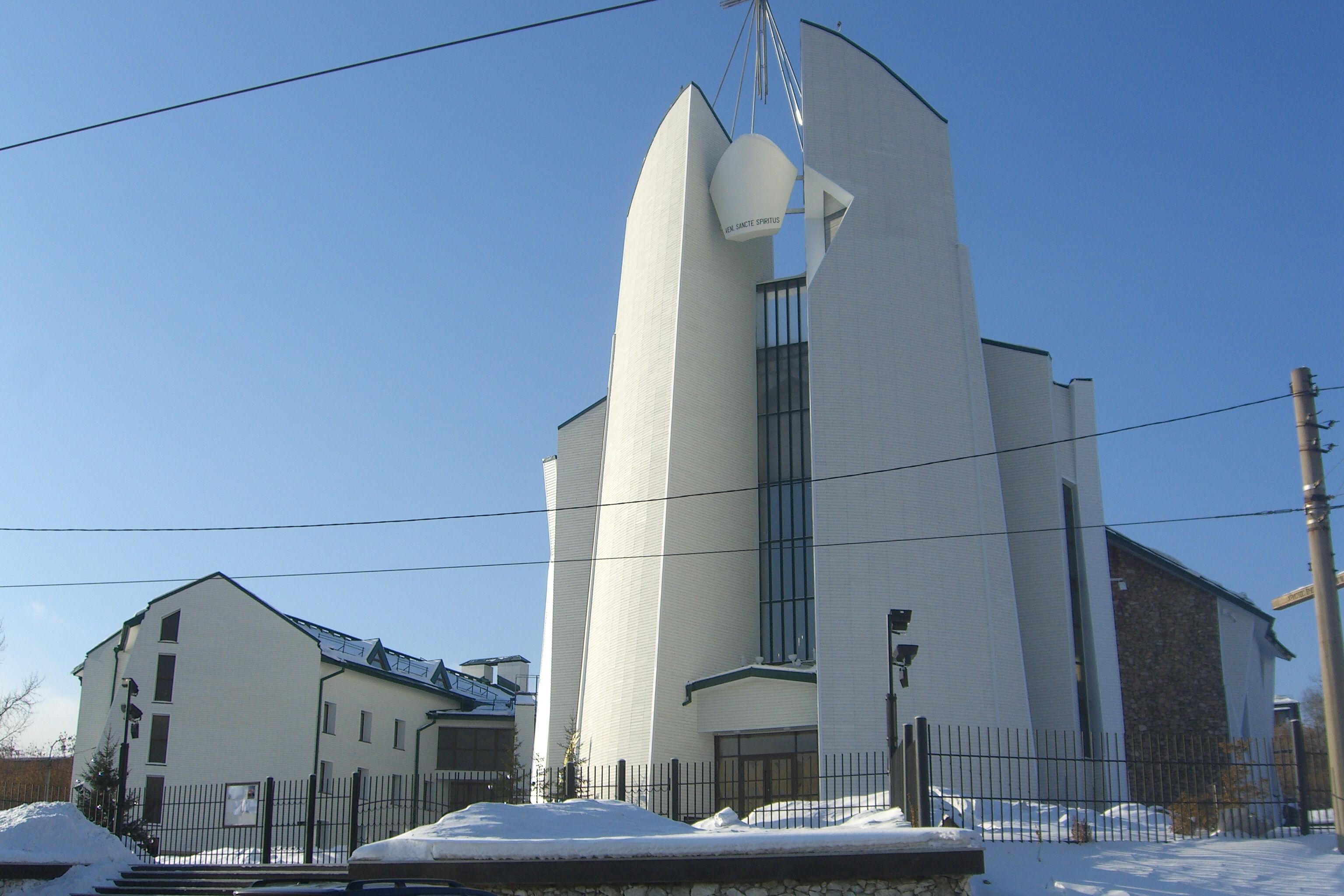 собор непорочного сердца божией матери в иркутске