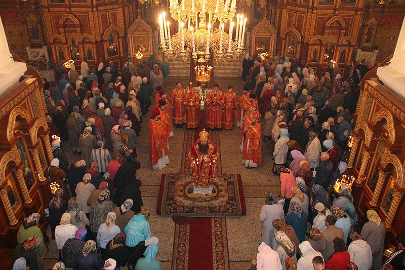 сормовская церковь служба