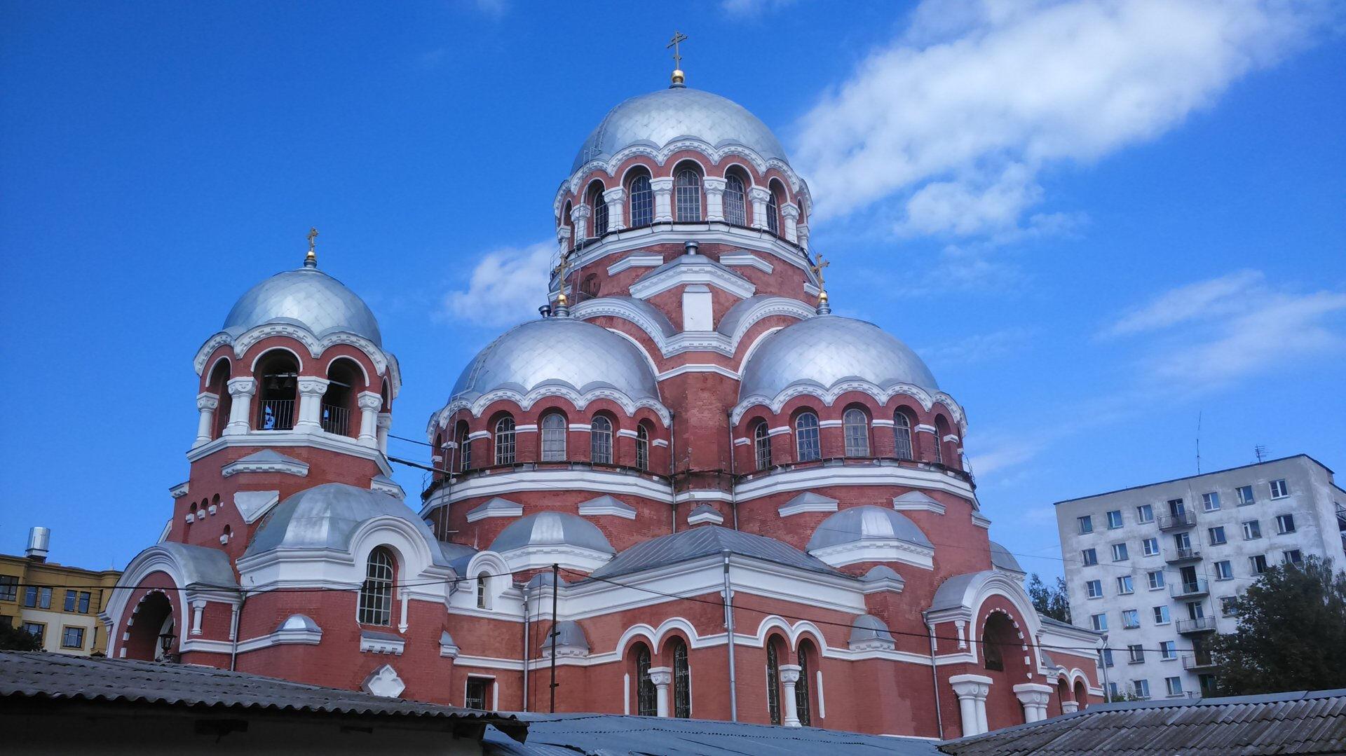 собор в центре сормова