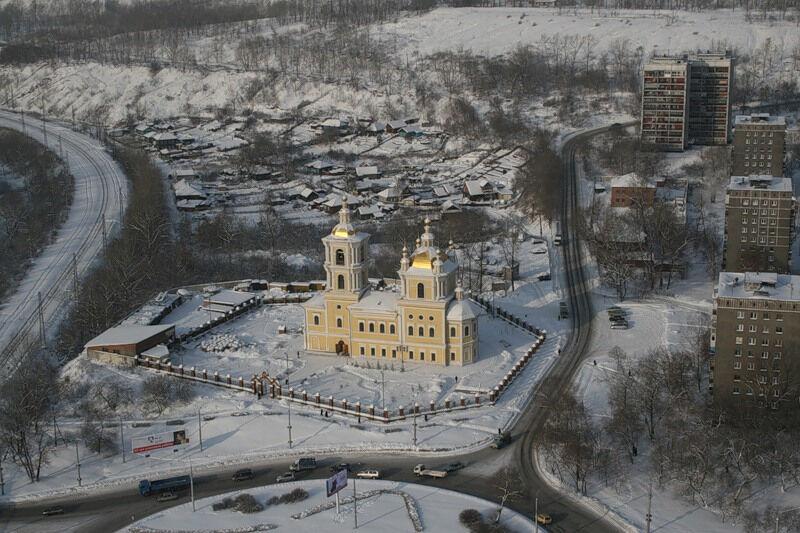 спасо преображенский собор в новокузнецке