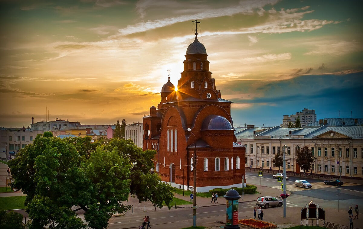 красная церковь во владимире