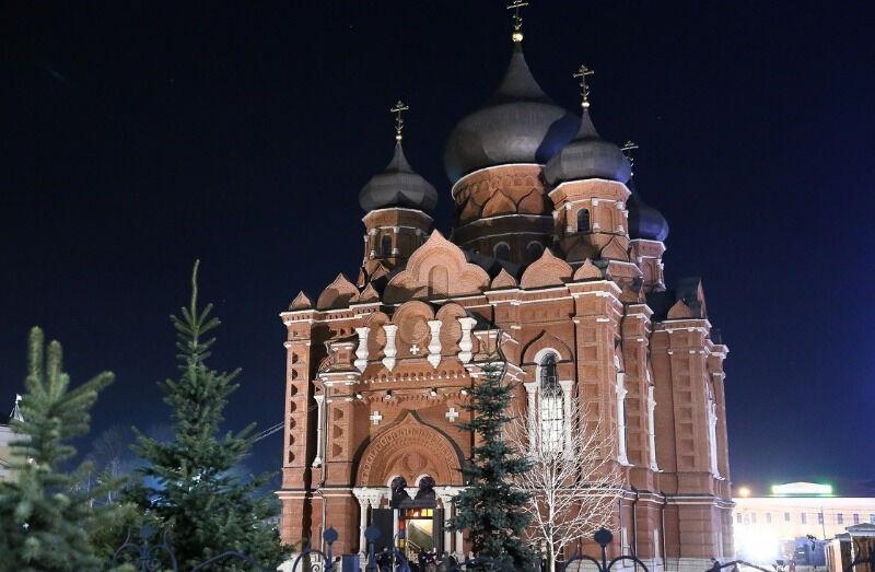 успенская церковь в туле