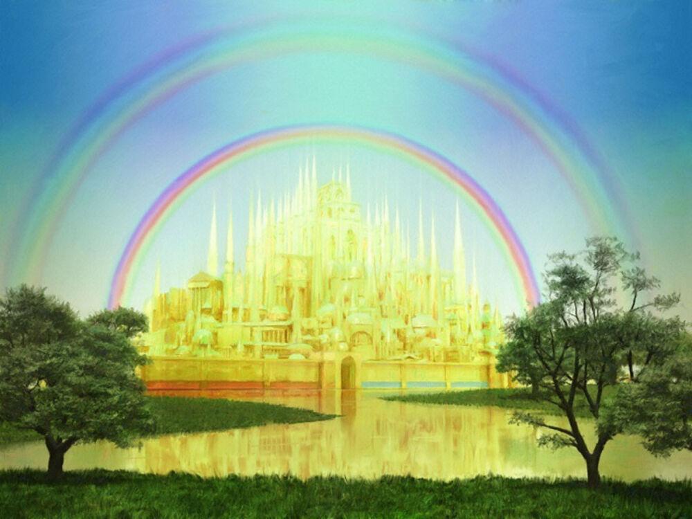 Как показан рай в официальных источниках. Ридус