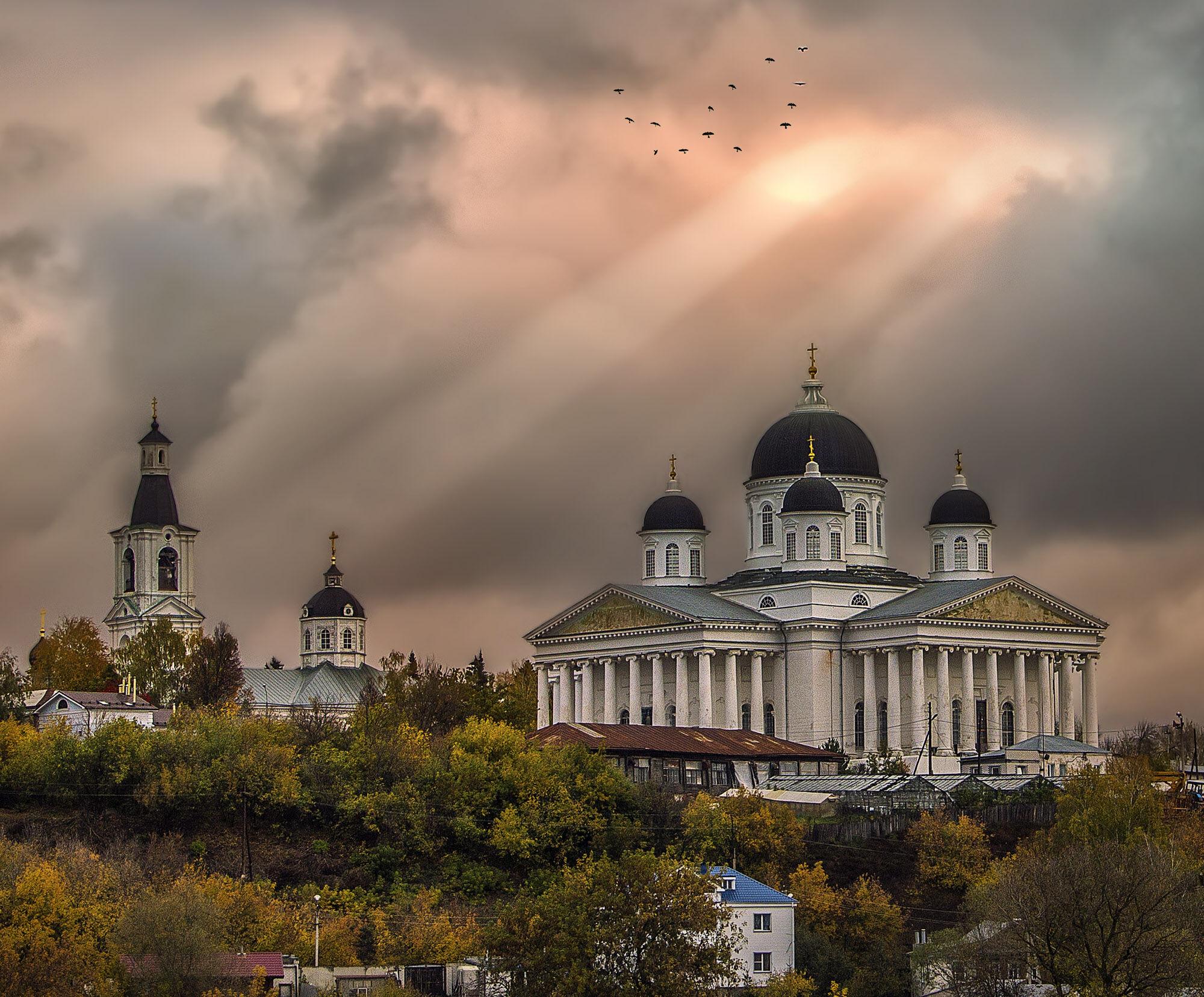 город церквей