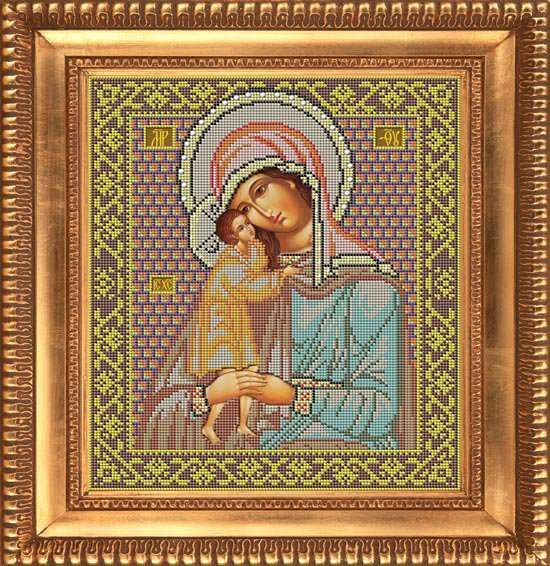 Набор для вышивания бисером арт. И003 Икона Божией Матери ВЗЫСКАНИЕ ...