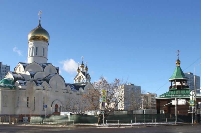 храм преподобного андрея рублева