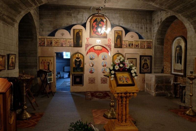 храм трех святителей в раменках