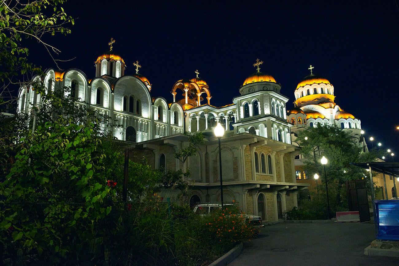 церковь в имеретинской низменности