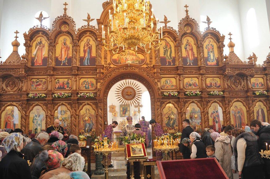 церковь на юбилейном