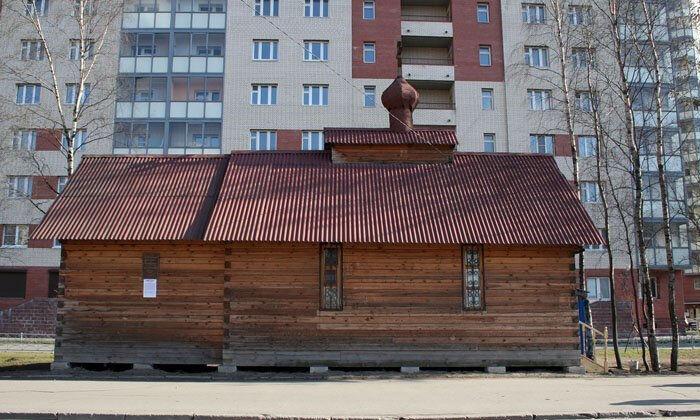 храм на большевиков