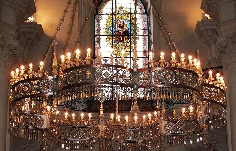 собор святого микулаша в праге