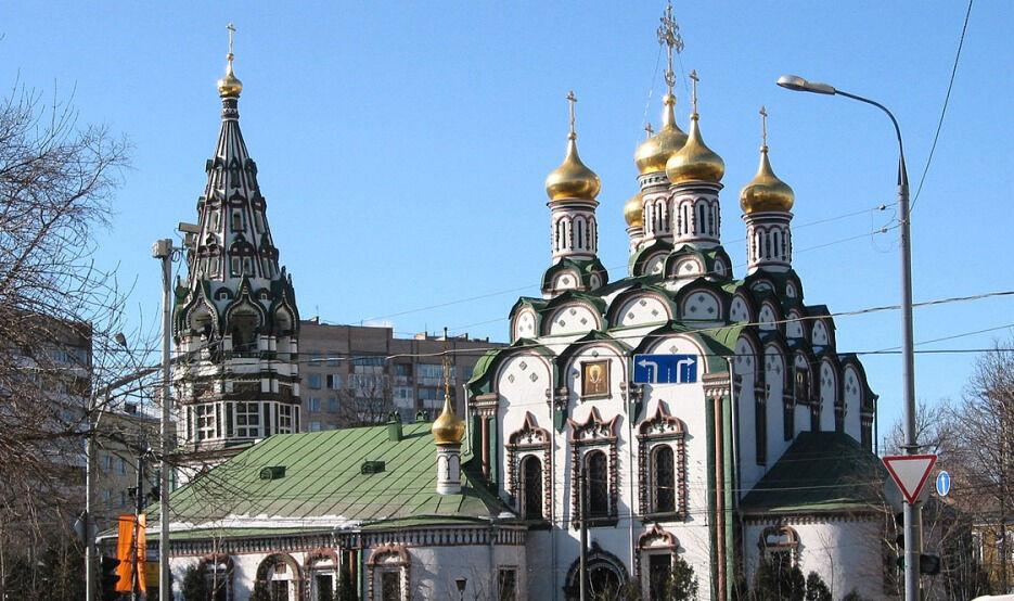 Храм Николая Чудотворца в Хамовниках — Википедия