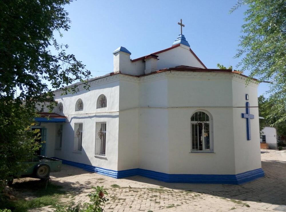 церковь святого иоанна крестителя в самарканде (главный ключ)