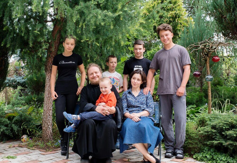 федор бородин с семьей