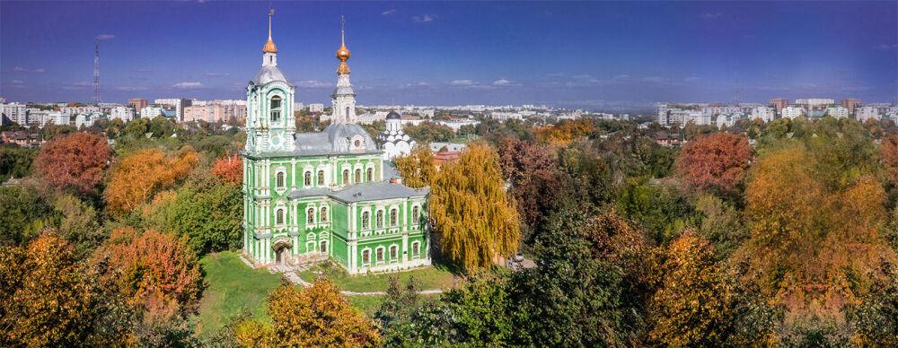 Никитская церковь во Владимире. Памятник архитектуры XVIII века