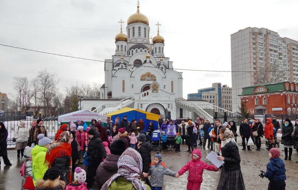 церковь троицы живоначальной в реутове