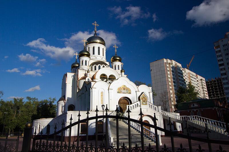 троицкая церковь реутова