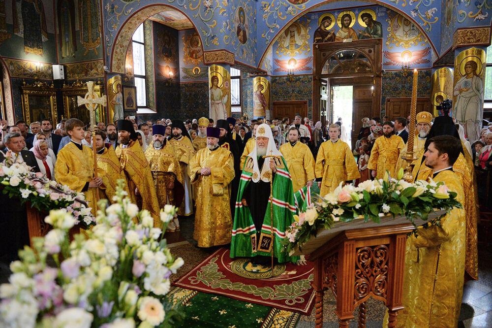 Проповедь Святейшего Патриарха Кирилла в Неделю 4-ю по Пятидесятнице ...