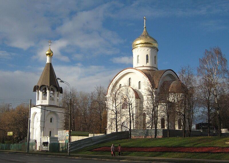Храм преподобной Евфросинии Московской приглашает жителей Котловки ...