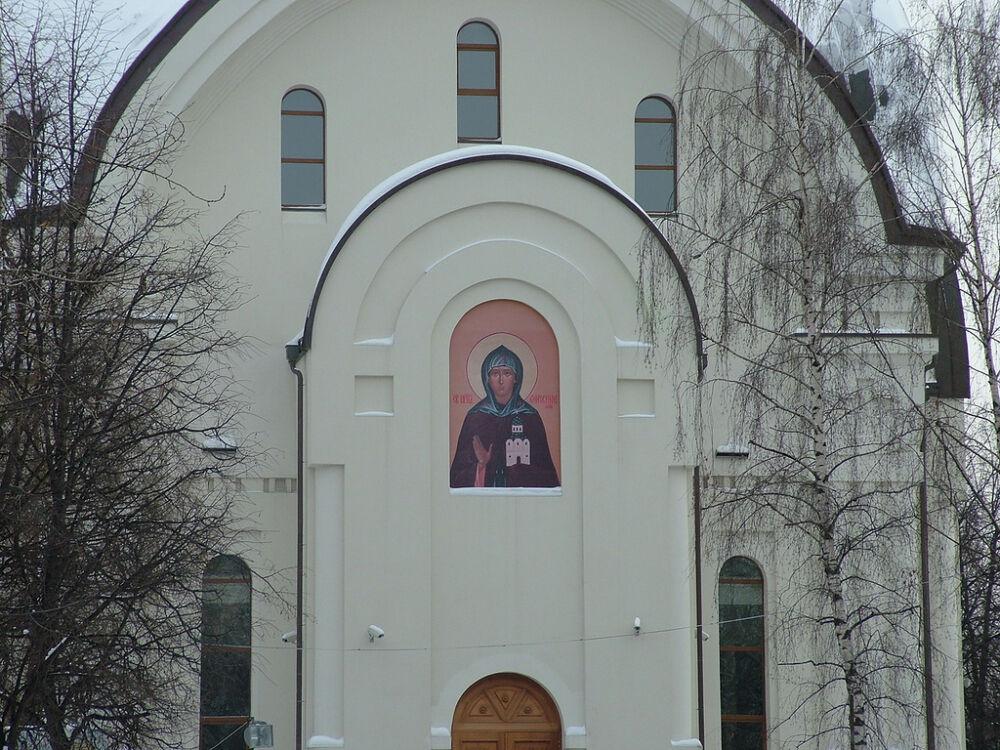 Храм Ефросиньи Московской на Зеленке: brekhoff